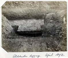 Photographs of excavations